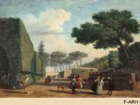 Фреска с регулярным парком