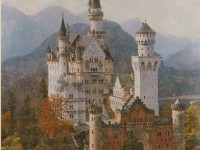 Фреска с шотландским замком