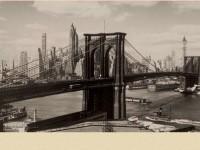 Фреска с мостом в Нью-Йорке