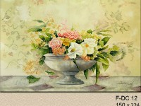 Фреска с вазой