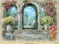 Фреска с фонтаном