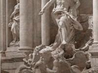 Фреска с греческой скульптурой
