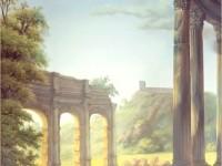Фреска с развалинами