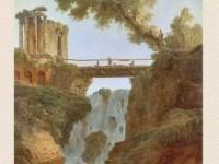 Декоративная фреска с видом на мост