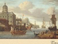 Фреска на стену с торговым портом