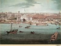 Фреска на стену с видом на Адмиралтейство
