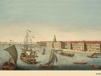 Фреска на стену со множеством кораблей