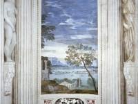 Фреска с классическим пейзажем