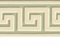 Фреска с греческим узором