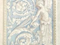 Фреска с крылатой девушкой
