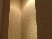 Декоративная штукатурка в арке