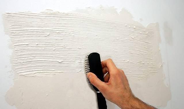 Фактурные стены своими руками фото