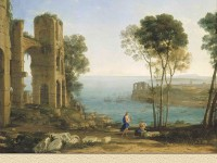 Фреска с римскими мотивами