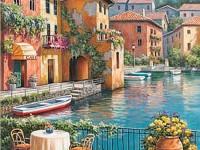 Декоративная фреска безмятежная венеция