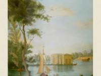 Фреска с корабликом