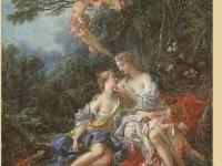 Декоративная фреска с Юпитером и Каллисто