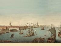 Фреска с кораблями под андреевским флагом