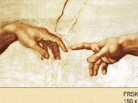 Фреска Сотворение Адама