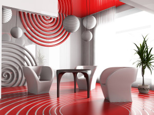Дизайн интерьера в авангардном стиле