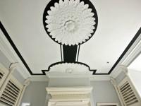 декорированный потолок
